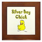 Silver Bay Chick Framed Tile
