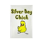 Silver Bay Chick Rectangle Magnet (100 pack)