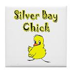 Silver Bay Chick Tile Coaster