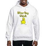Silver Bay Chick Hooded Sweatshirt