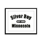 Silver Bay Established 1956 Framed Panel Print