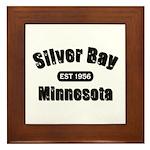 Silver Bay Established 1956 Framed Tile