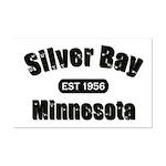 Silver Bay Established 1956 Mini Poster Print
