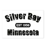 Silver Bay Established 1956 Postcards (Package of