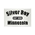 Silver Bay Established 1956 Rectangle Magnet