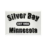 Silver Bay Established 1956 Rectangle Magnet (100