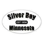 Silver Bay Established 1956 Oval Sticker