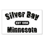 Silver Bay Established 1956 Rectangle Sticker 10