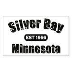 Silver Bay Established 1956 Rectangle Sticker 50