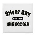 Silver Bay Established 1956 Tile Coaster