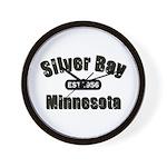 Silver Bay Established 1956 Wall Clock