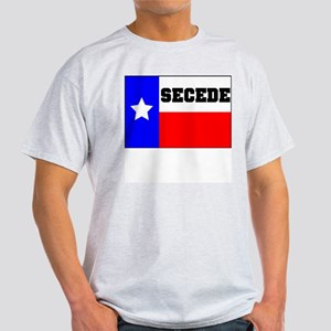 TEXAS SECISSION WITH LINCOLN QUOTE ON BACK Light T