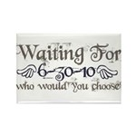 Waiting For Eclipse Rectangle Magnet (100 pack)