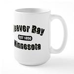 Beaver Bay Established 1856 Large Mug