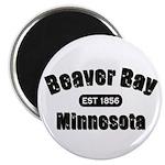 Beaver Bay Established 1856 Magnet
