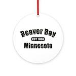 Beaver Bay Established 1856 Ornament (Round)