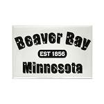 Beaver Bay Established 1856 Rectangle Magnet