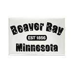 Beaver Bay Established 1856 Rectangle Magnet (10 p