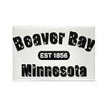 Beaver Bay Established 1856 Rectangle Magnet (100