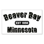 Beaver Bay Established 1856 Rectangle Sticker 10