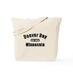 Beaver Bay Established 1856 Tote Bag