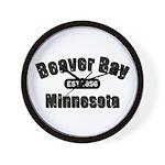 Beaver Bay Established 1856 Wall Clock