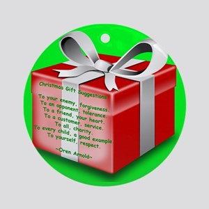 Gift Suggestions Ornament (Round)