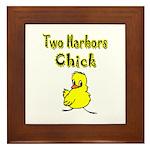 Two Harbors Chick Framed Tile