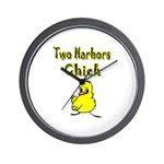 Two Harbors Chick Wall Clock