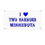 I Love Two Harbors Winter Banner