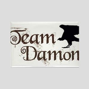 Team Damon Rectangle Magnet