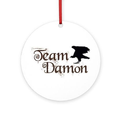 Team Damon Ornament (Round)