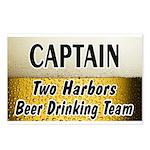 Two Harbors Beer Drinking Team Postcards (Package
