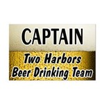 Two Harbors Beer Drinking Team Mini Poster Print