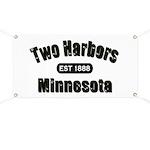 Two Harbors Established 1888 Banner