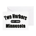 Two Harbors Established 1888 Greeting Card