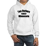 Two Harbors Established 1888 Hooded Sweatshirt