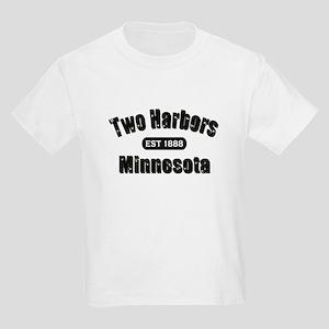 Two Harbors Established 1888 Kids Light T-Shirt