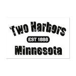 Two Harbors Established 1888 Mini Poster Print