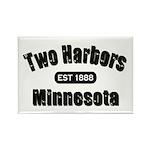Two Harbors Established 1888 Rectangle Magnet