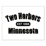 Two Harbors Established 1888 Small Poster