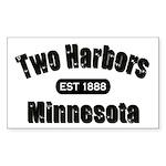 Two Harbors Established 1888 Rectangle Sticker 10