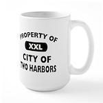 Property of City of Two Harbors Large Mug