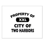 Property of City of Two Harbors Small Poster