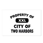 Property of City of Two Harbors Postcards (Package