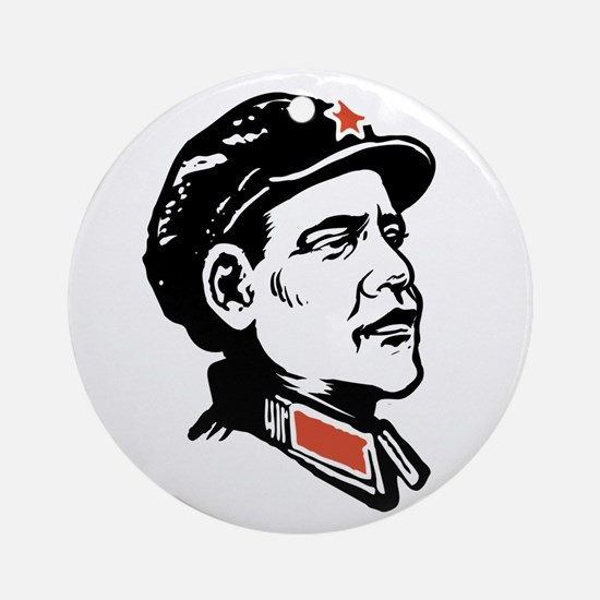 Oba mao Ornament (Round)