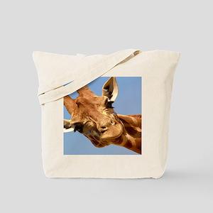 Curious GiraffeTote Bag