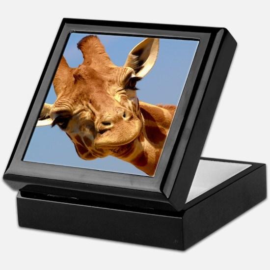 Funny African animal Keepsake Box
