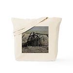Wagon Wheel Morning Tote Bag