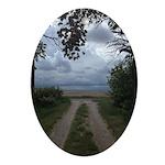 Prairie Portal Oval Ornament